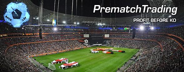 Pre match trading system