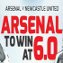 Arsenal 5/1 To Beat Newcastle