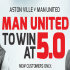 Get 4/1 For Man U To Beat Villa